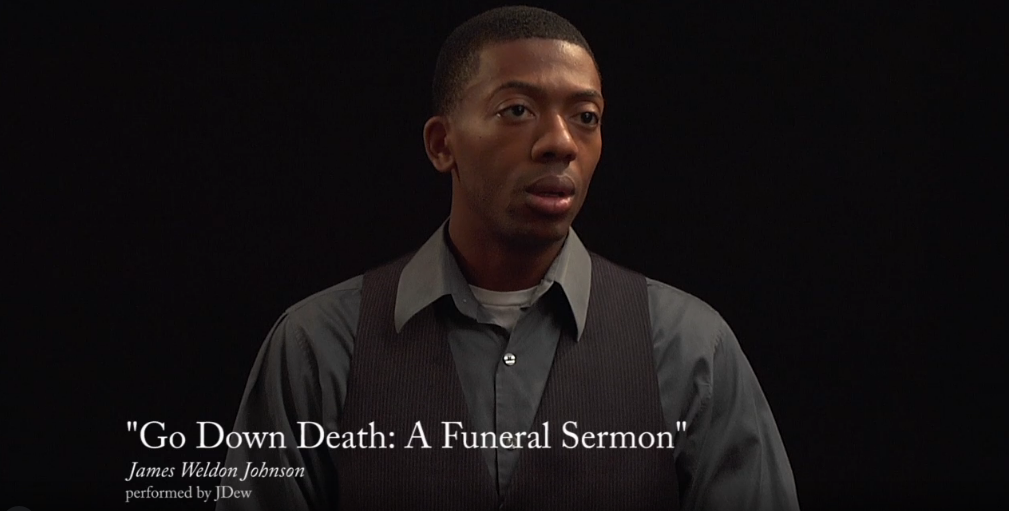 """Go Down Death: A Funeral Sermon"" by James Weldon Johnson"